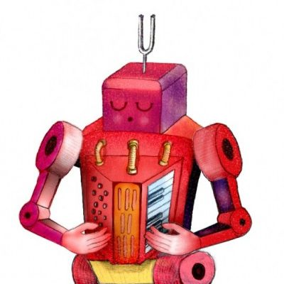 Robot Johnny Jenkowitz - Illustration by Henry Ryder