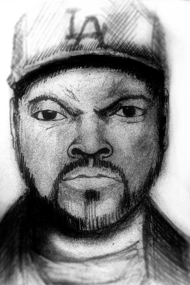 Ice Cube - by Henry Ryder