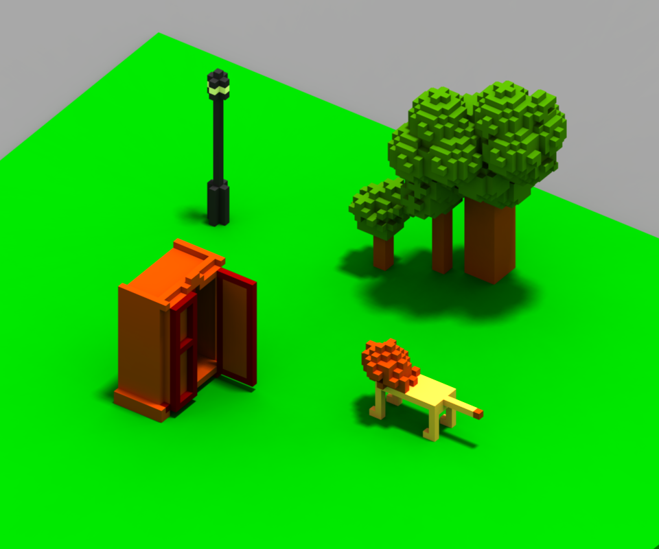 made in the wonderful MagicaVoxel